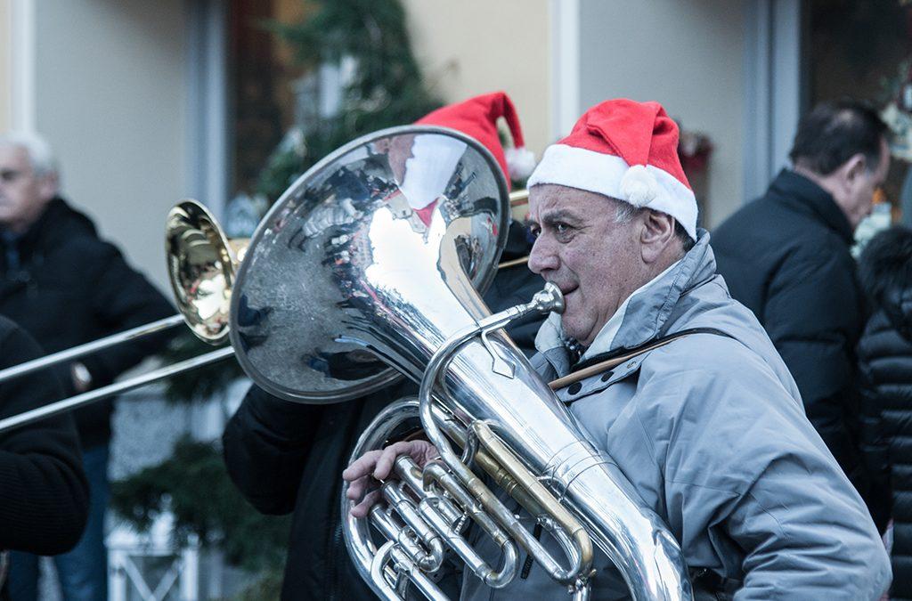 La Bandella Vigezzo ai Mercatini di Natale di Santa Maria Maggiore