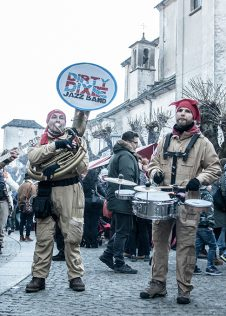 La Dirty Dixie Jazz Band ai Mercatini di Natale di Santa Maria Maggiore