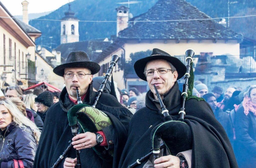 Duo D'Ance: cornamuse ai Mercatini di Natale di Santa Maria Maggiore