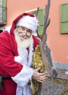 Babbo Natale ai Mercatini di Natale di Santa Maria Maggiore - ph. Susy Mezzanotte