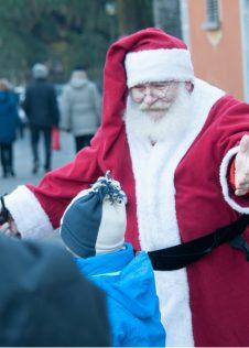 Babbo Natale ai Mercatini di Natale di Santa Maria Maggiore