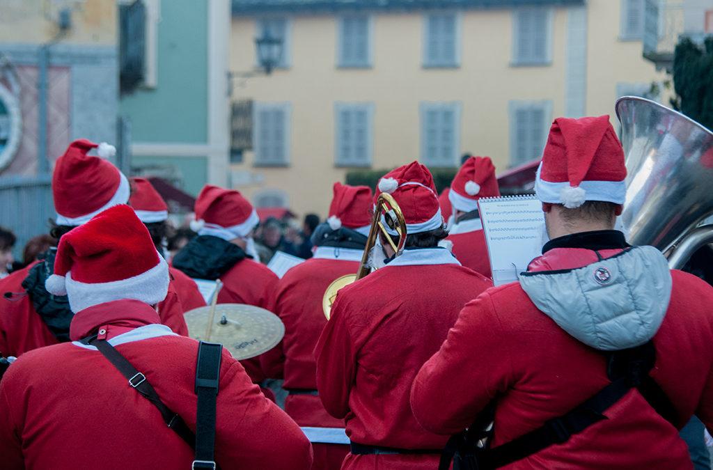 Antigo Brass Band ai Mercatini di Natale di Santa Maria Magggiore