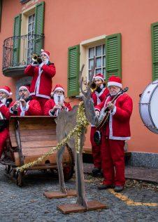 Antigo Brass Band ai Mercatini di Natale di Santa Maria Magggiore - ph. Massimo Bertina