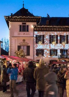 Video mapping ai Mercatini di Natale di Santa Maria Maggiore - ph. Susy Mezzanotte