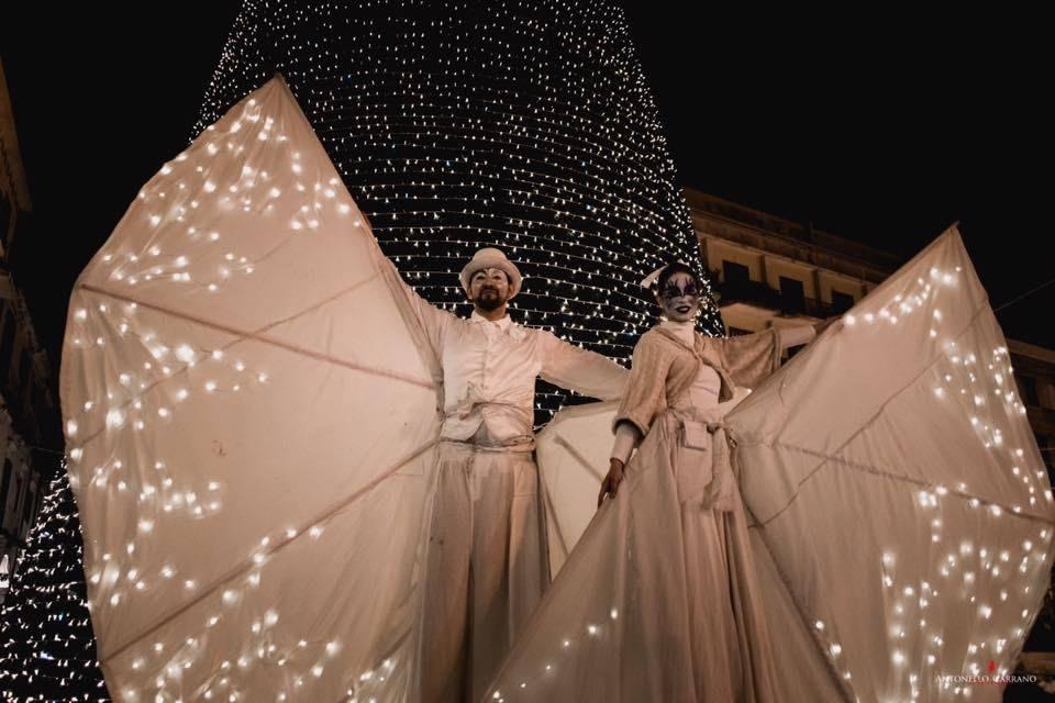 Bianche presenze & White baloons - Mercatini di Natale di Santa Maria Maggiore
