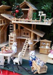 Il laboratorio per bambini Nonno Gianni e il Bosco Felice ai Mercatini di Natale di Santa Maria Maggiore