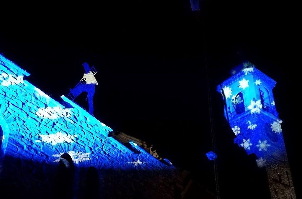 Videomapping ai Mercatini di Natale di Santa Maria Maggiore