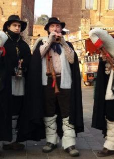 Zampognari La Butasciora ai Mercatini di Natale di Santa Maria Maggiore